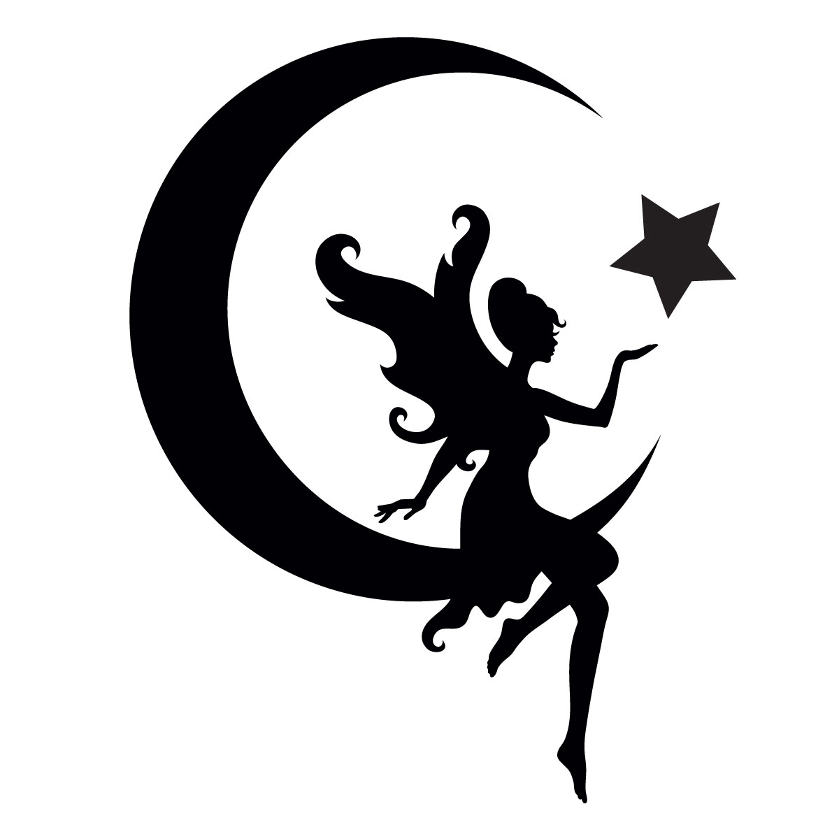 Tattoo Stencils Printable Moon: Glitter Quarter Mark Stencil For Horses