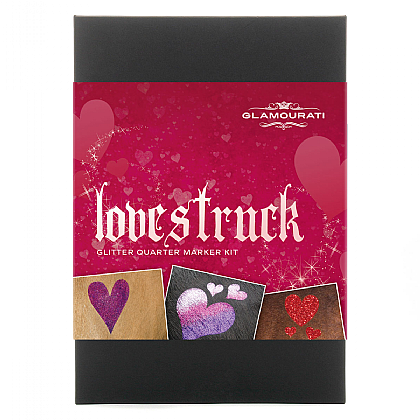 Lovestruck Glitter Quarter Marker Kit