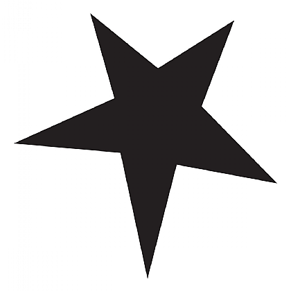 Medium Pointy Star