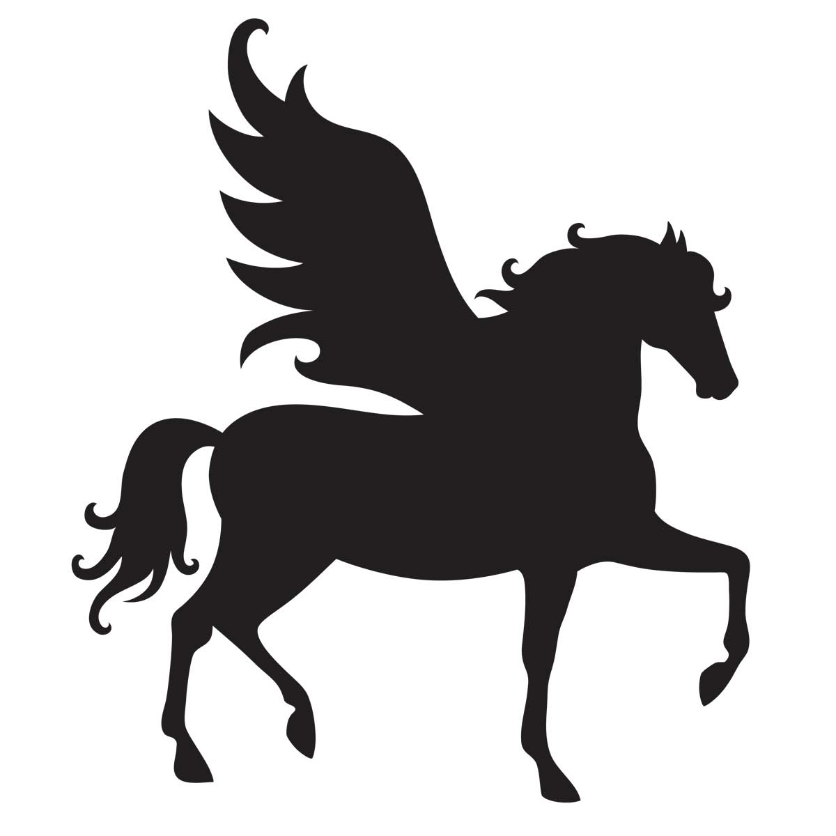 pegasus stencil for glitter tattoos for horses rhino clipart free rhino clipart face